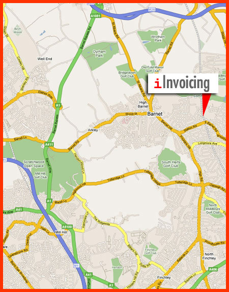 iInvoicing Map